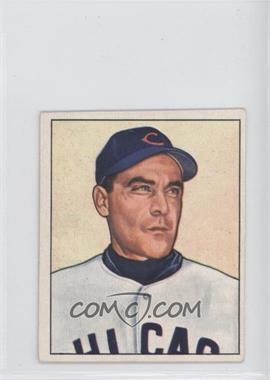 1950 Bowman - [Base] #195.1 - Phil Cavaretta (copyright)