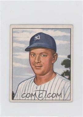 1950 Bowman - [Base] #215.1 - Ed Lopat (copyright)