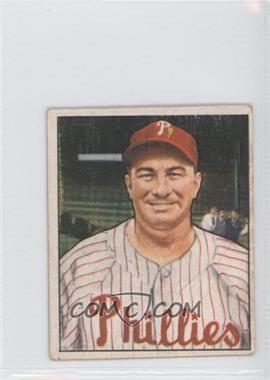 1950 Bowman - [Base] #225.1 - Eddie Sawyer (copyright)