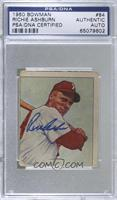Richie Ashburn [PSA/DNA Certified Encased]