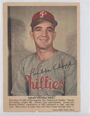 1950 Philadelphia Inquirer Fightin' Phillies Album - [Base] #N/A - Bubba Church