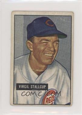 1951 Bowman - [Base] #108 - Virgil Stallcup [PoortoFair]