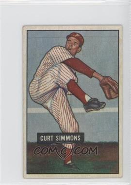 1951 Bowman - [Base] #111 - Curt Simmons