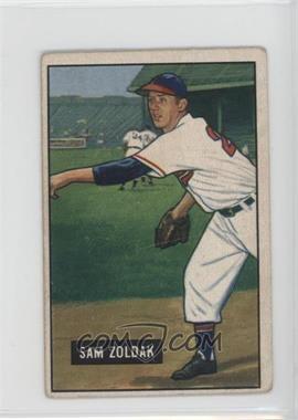 1951 Bowman - [Base] #114 - Sam Zoldak [GoodtoVG‑EX]