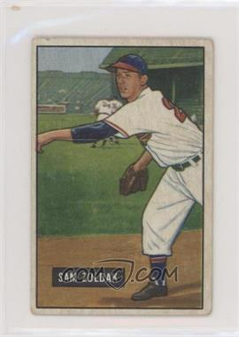 1951 Bowman - [Base] #114 - Sam Zoldak [Good to VG‑EX]