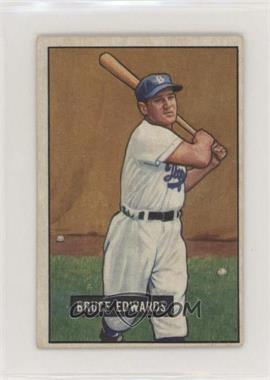 1951 Bowman - [Base] #116 - Bruce Edwards