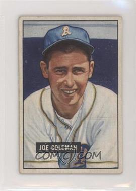 1951 Bowman - [Base] #120 - Joe Coleman [GoodtoVG‑EX]