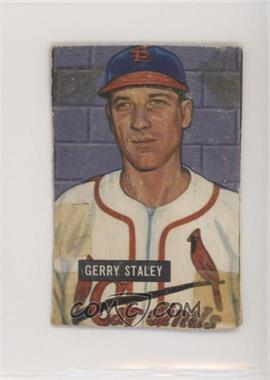 1951 Bowman - [Base] #121 - Gerry Staley [Altered]