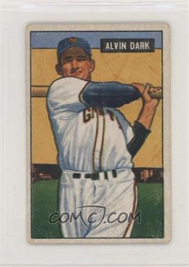 1951 Bowman - [Base] #14 - Alvin Dark [Good to VG‑EX]