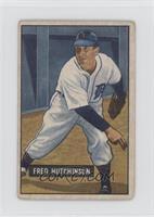 Fred Hutchinson [GoodtoVG‑EX]