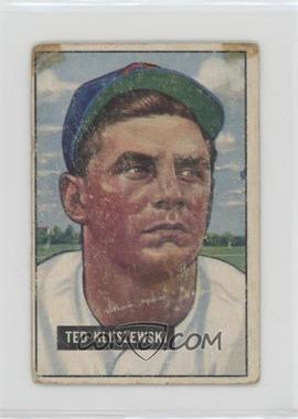 1951 Bowman - [Base] #143 - Ted Kluszewski [Poor]