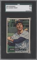 Johnny Pesky [SGC 45 VG+ 3.5]
