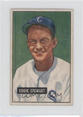 1951 Bowman - [Base] #159 - Eddie Stewart [GoodtoVG‑EX]
