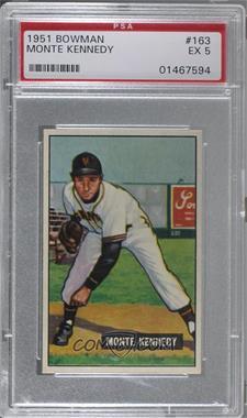 1951 Bowman - [Base] #163 - Monte Kennedy [PSA5EX]