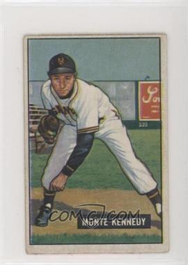 1951 Bowman - [Base] #163 - Monte Kennedy