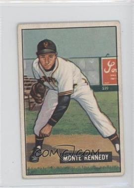 1951 Bowman - [Base] #163 - Monte Kennedy [Noted]