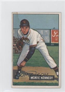 1951 Bowman - [Base] #163 - Monte Kennedy [PoortoFair]