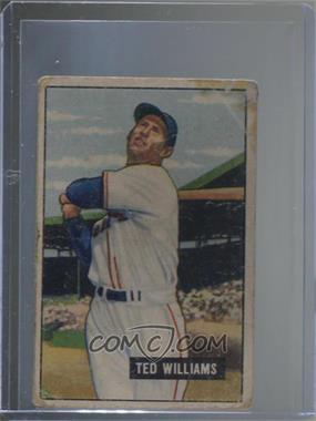 1951 Bowman - [Base] #165 - Ted Williams [Poor]