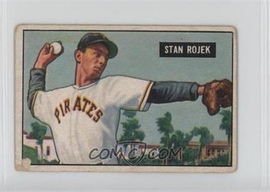 1951 Bowman - [Base] #166 - Stan Rojek [PoortoFair]