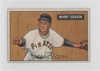 Murry Dickson [Good to VG‑EX]