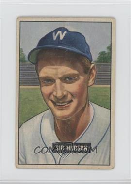 1951 Bowman - [Base] #169 - Sid Hudson [Good to VG‑EX]