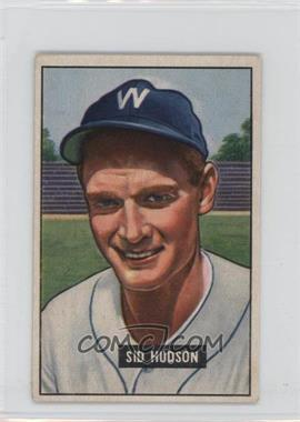 1951 Bowman - [Base] #169 - Sid Hudson