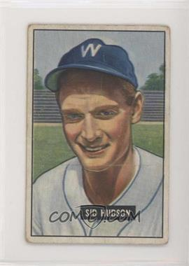 1951 Bowman - [Base] #169 - Sid Hudson [PoortoFair]