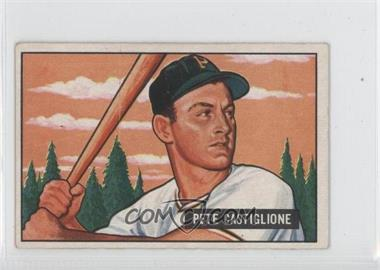 1951 Bowman - [Base] #17 - Pete Castiglione