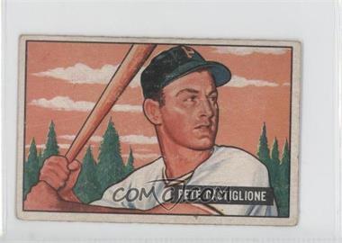 1951 Bowman - [Base] #17 - Pete Castiglione [GoodtoVG‑EX]