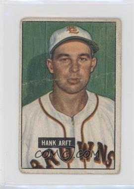 1951 Bowman - [Base] #173 - Hank Arft [PoortoFair]