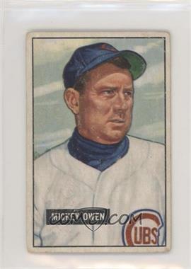 1951 Bowman - [Base] #174 - Mickey Owen [PoortoFair]