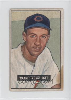 1951 Bowman - [Base] #175 - Wayne Terwilliger [Poor to Fair]