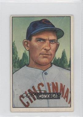 1951 Bowman - [Base] #180 - Howie Fox [Good to VG‑EX]
