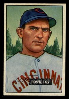 1951 Bowman - [Base] #180 - Howie Fox [EX MT]