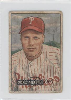 1951 Bowman - [Base] #186 - Richie Ashburn [Poor]