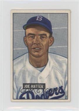 1951 Bowman - [Base] #190 - Joe Hatten [GoodtoVG‑EX]