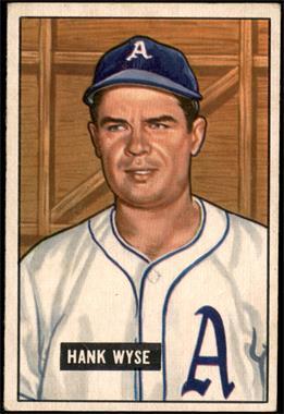 1951 Bowman - [Base] #192 - Hank Wyse [VGEX]