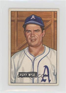 1951 Bowman - [Base] #192 - Hank Wyse [GoodtoVG‑EX]