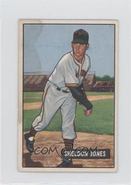1951 Bowman - [Base] #199 - Sheldon Jones [PoortoFair]