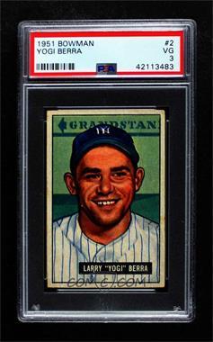 1951 Bowman - [Base] #2 - Yogi Berra [PSA3VG]