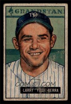 1951 Bowman - [Base] #2 - Yogi Berra [FAIR]