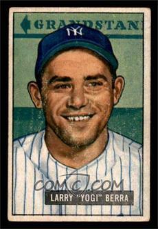 1951 Bowman - [Base] #2 - Yogi Berra [VG]