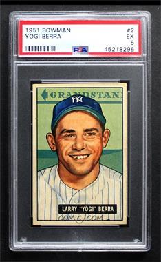 1951 Bowman - [Base] #2 - Yogi Berra [PSA5EX]