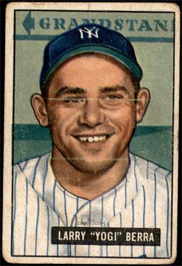 1951 Bowman - [Base] #2 - Yogi Berra [POOR]
