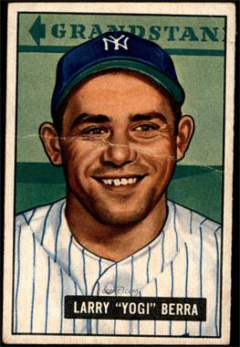 1951 Bowman - [Base] #2 - Yogi Berra [GOOD]