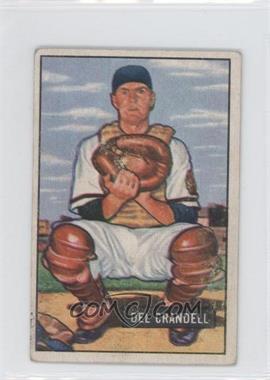 1951 Bowman - [Base] #20 - Del Crandall