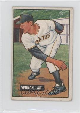 1951 Bowman - [Base] #203 - Vern Law [GoodtoVG‑EX]