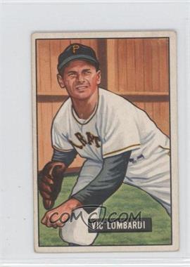 1951 Bowman - [Base] #204 - Vic Lombardi