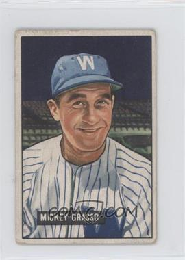 1951 Bowman - [Base] #205 - Mickey Grasso [Good to VG‑EX]