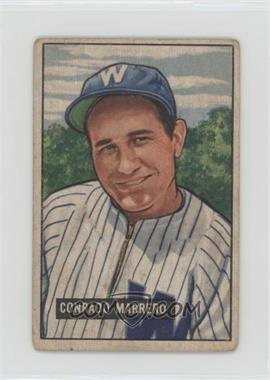 1951 Bowman - [Base] #206 - Connie Marrero [Poor to Fair]
